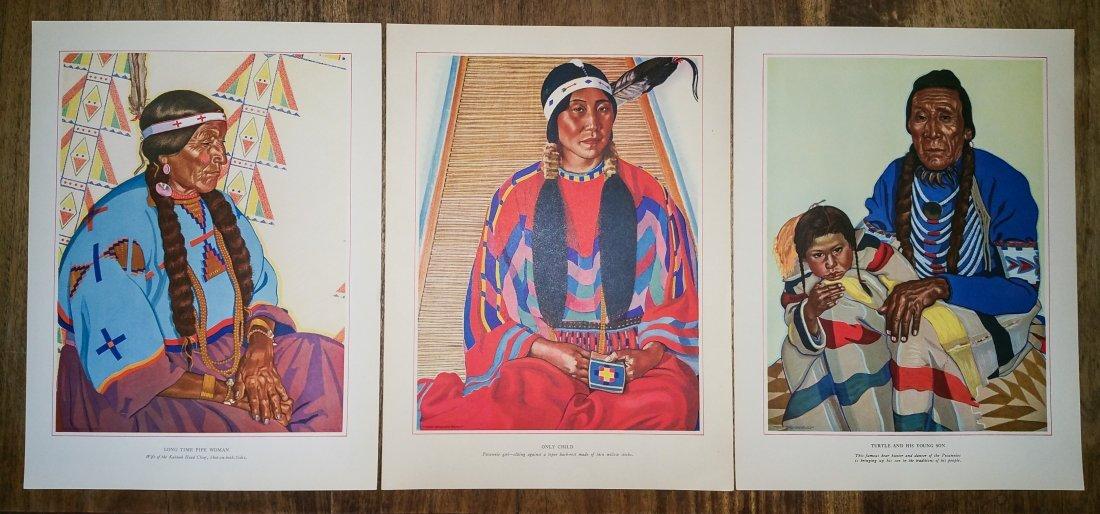BLACKFEET INDIANS OF GLACIER NATIONAL PARK BY WINOLD RE - 7