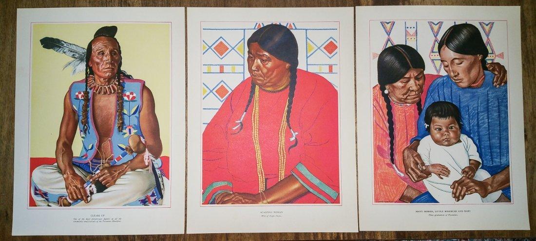 BLACKFEET INDIANS OF GLACIER NATIONAL PARK BY WINOLD RE - 8