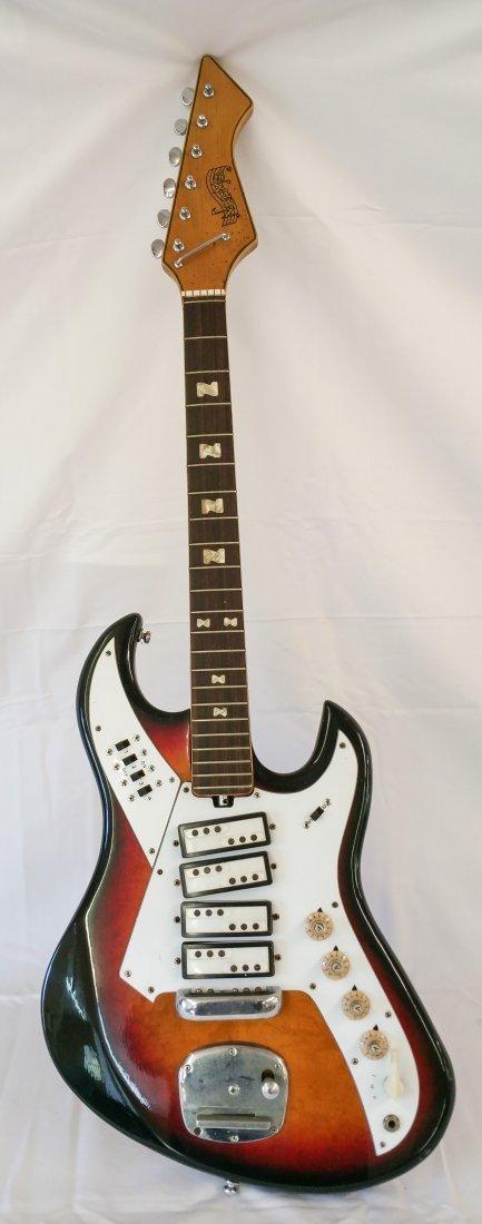 1960'S NORMA EG421-4 VINTAGE ELECTRIC GUITAR