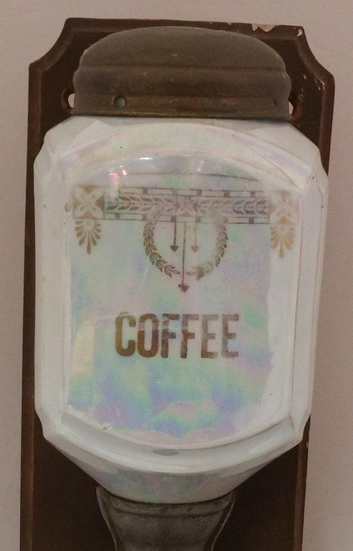 ANTIQUE GERMAN MADE COFFEE GRINDER - 2