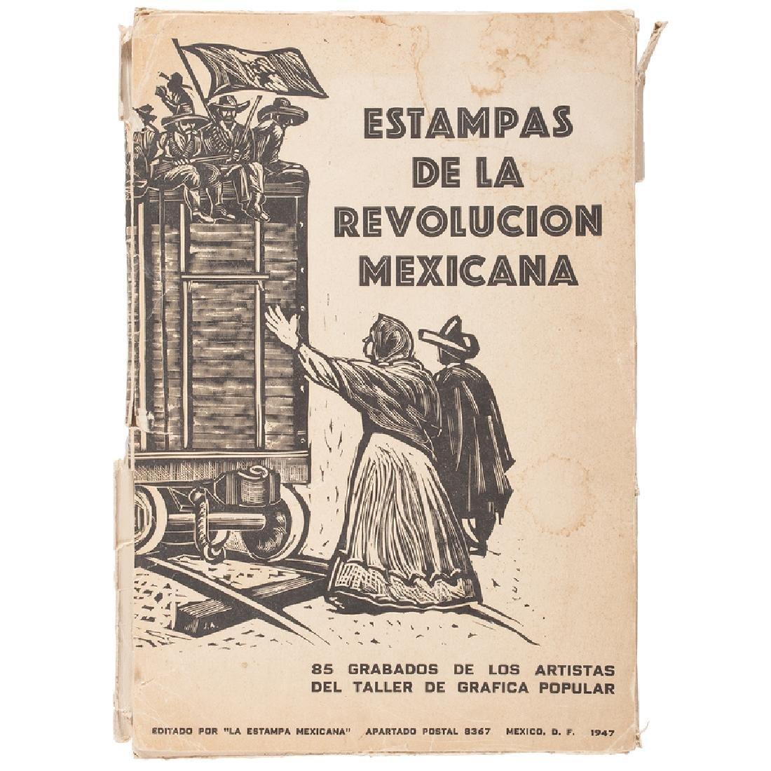 Estampas de la Revolucion Mexicana, Suite of Woodcuts