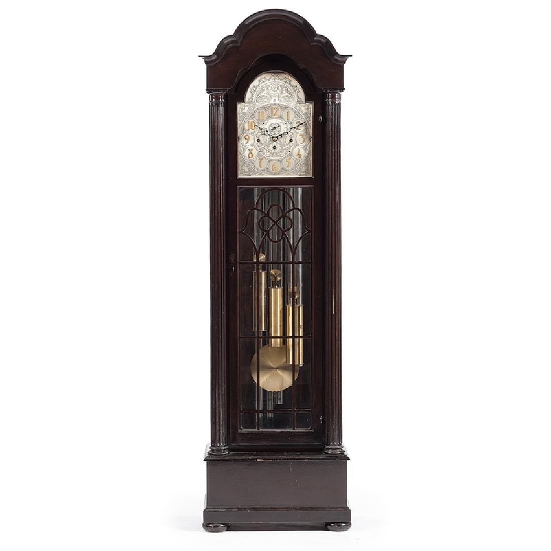 Herschede Five-Tube Tall Case Clock