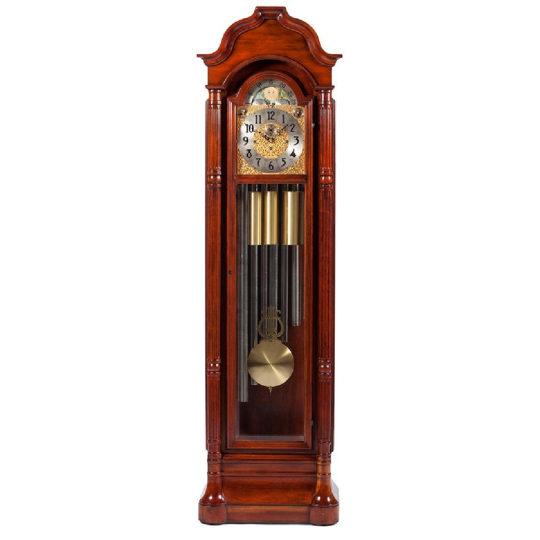 Herschede Nine-Tube Tall Case Clock
