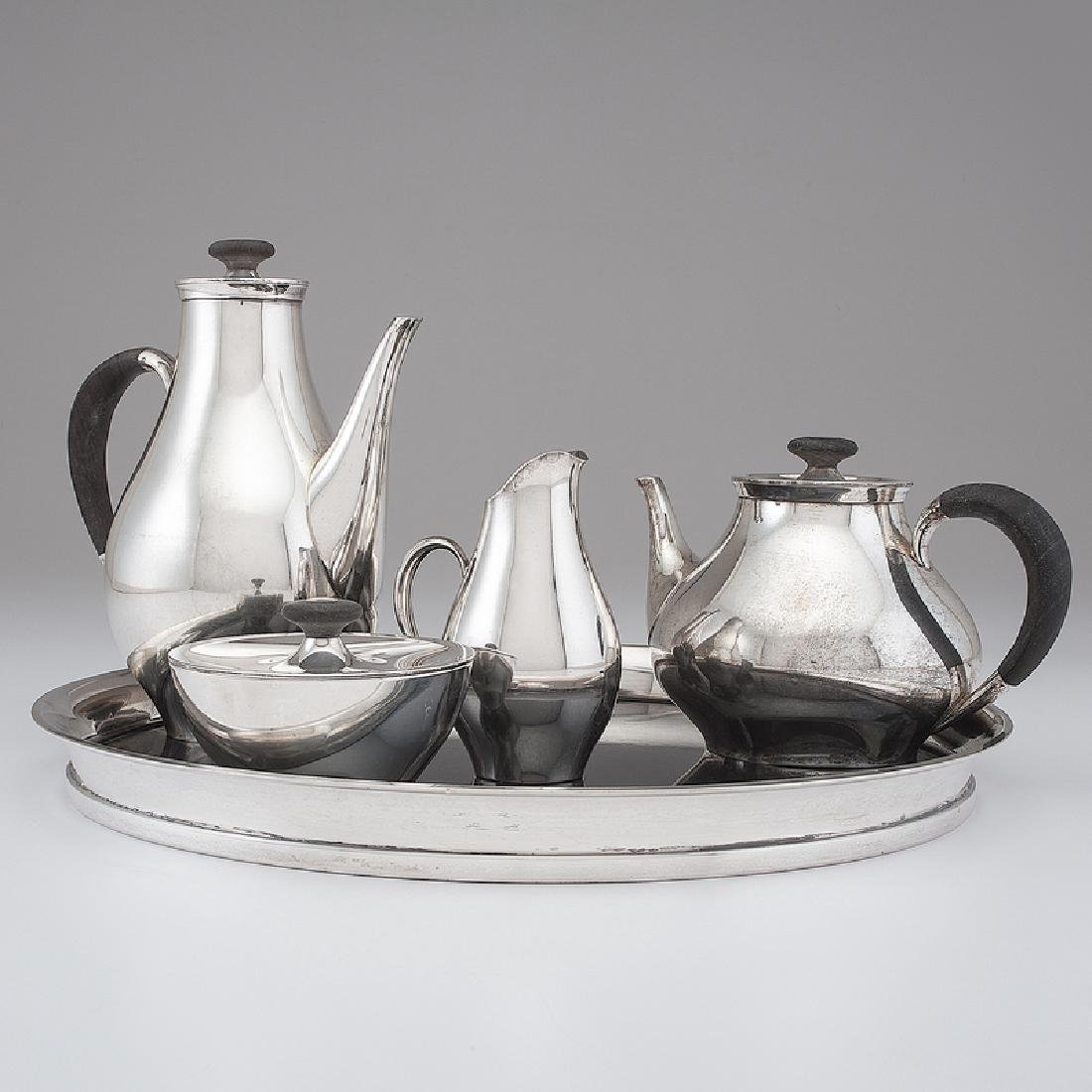 Gorham Modernist Sterling Tea & Coffee Service