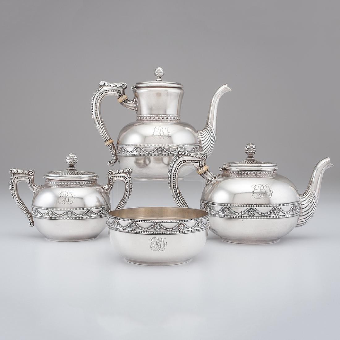 Gorham Sterling Tea & Coffee Service