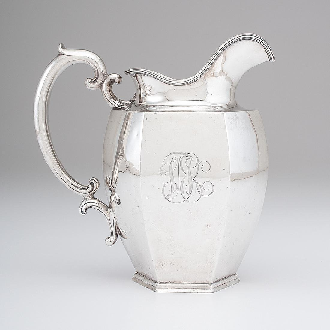 Loring Andrews Sterling Water Pitcher
