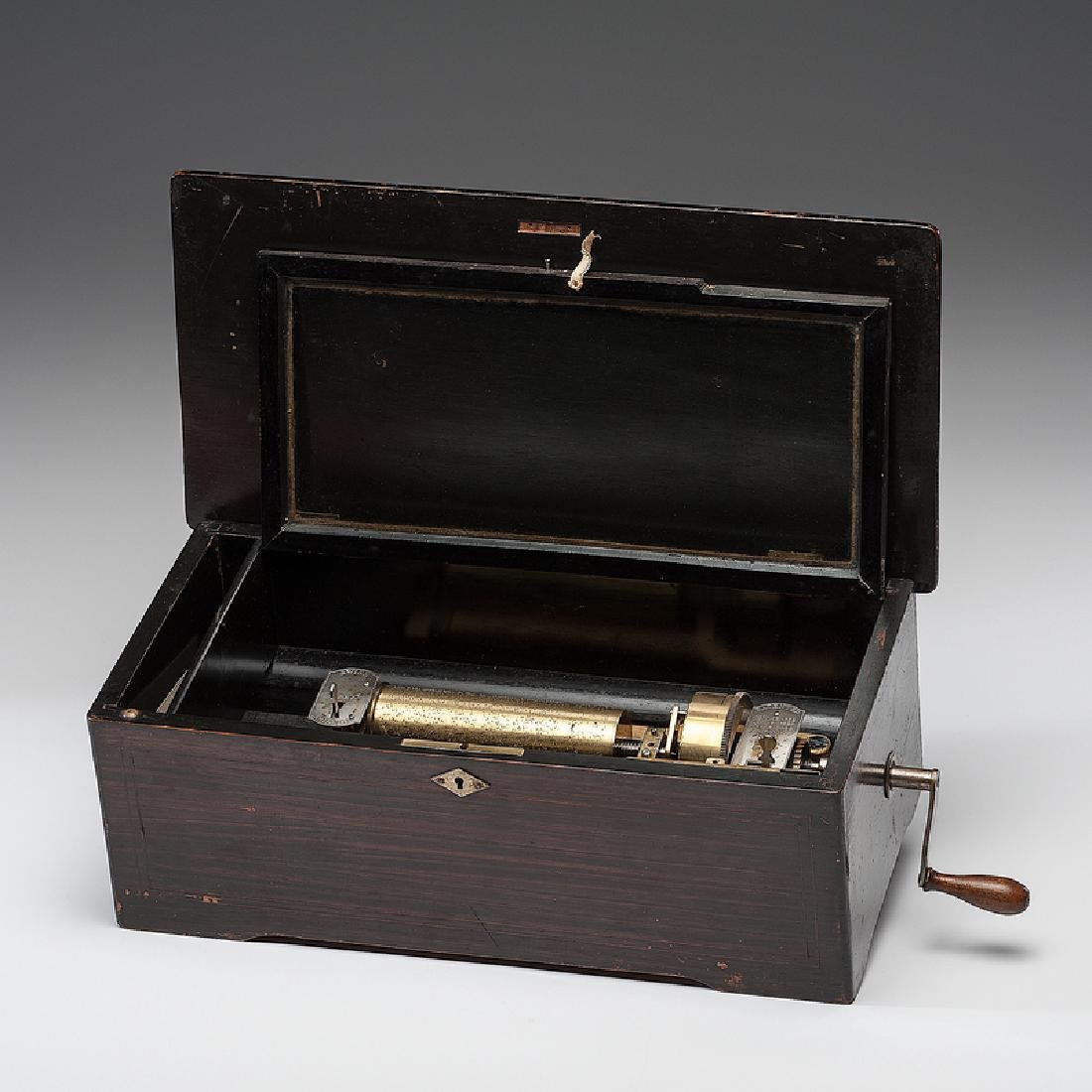 Mermod Freres Coin-Operated Eight-Tune Cylinder Music