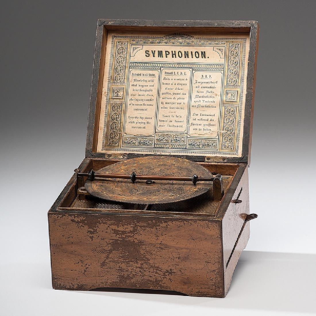 Symphonion 5.75 Inch Disc Music Box