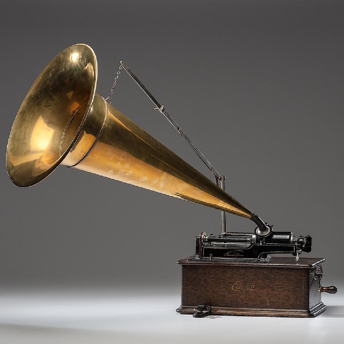 Edison Home Cylinder Phonograph with Cylinders