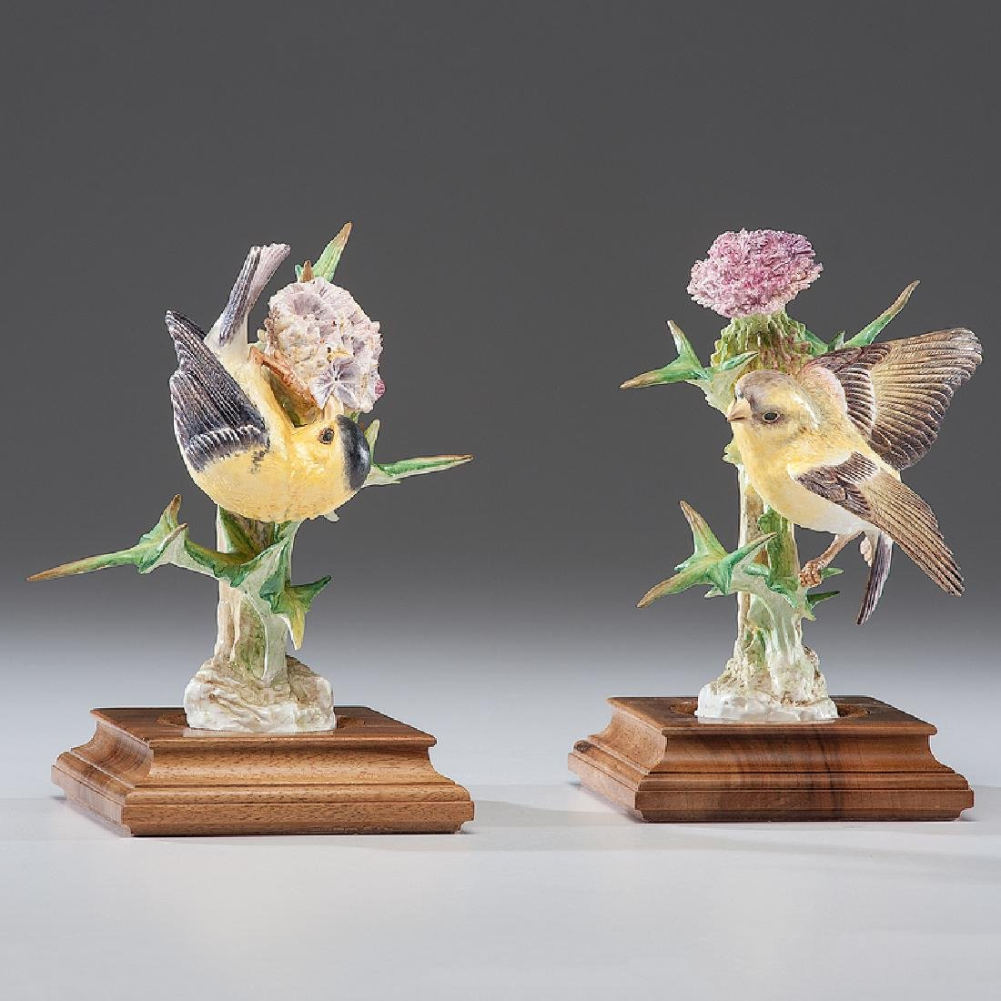 Royal Worcester Dorothy Doughty Gold Finches