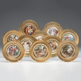 Dresden Porcelain Cabinet Plates