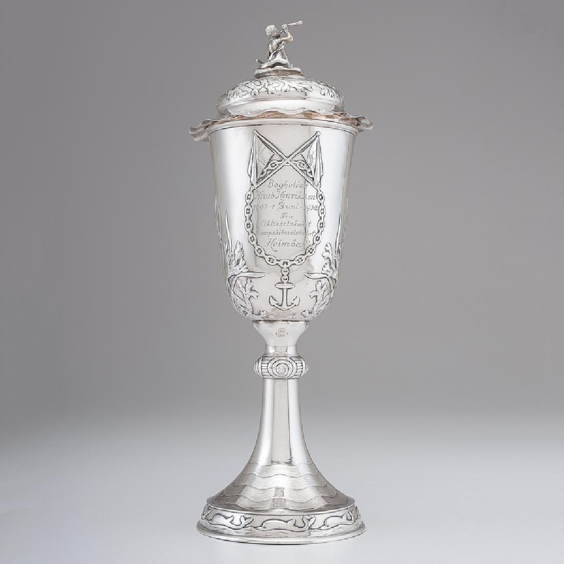 Anton Michelsen Sterling Nautical Trophy
