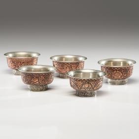 Tibetan Tea Bowls