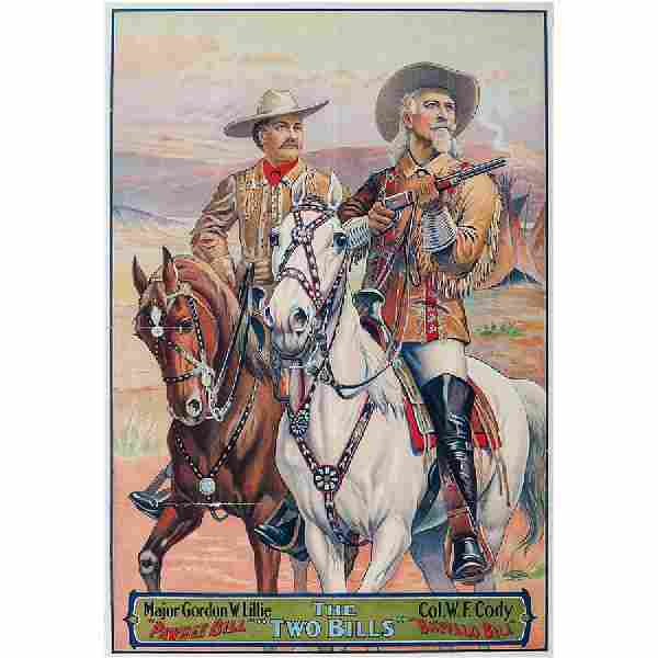 "Buffalo Bill and Pawnee Bill, The ""Two Bills"", Perhaps"
