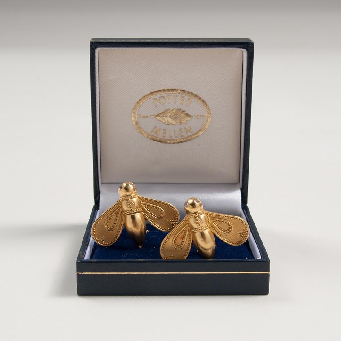 Maija Neimanis for Potter Mellen Bee Earrings