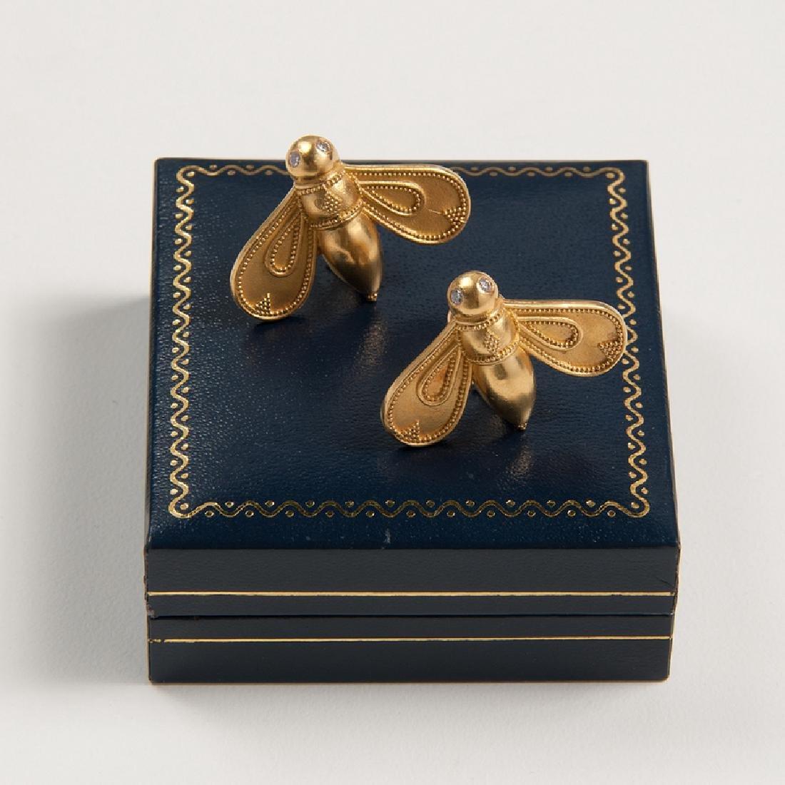 Maija Neimanis for Potter Mellen Bee Earrings - 2