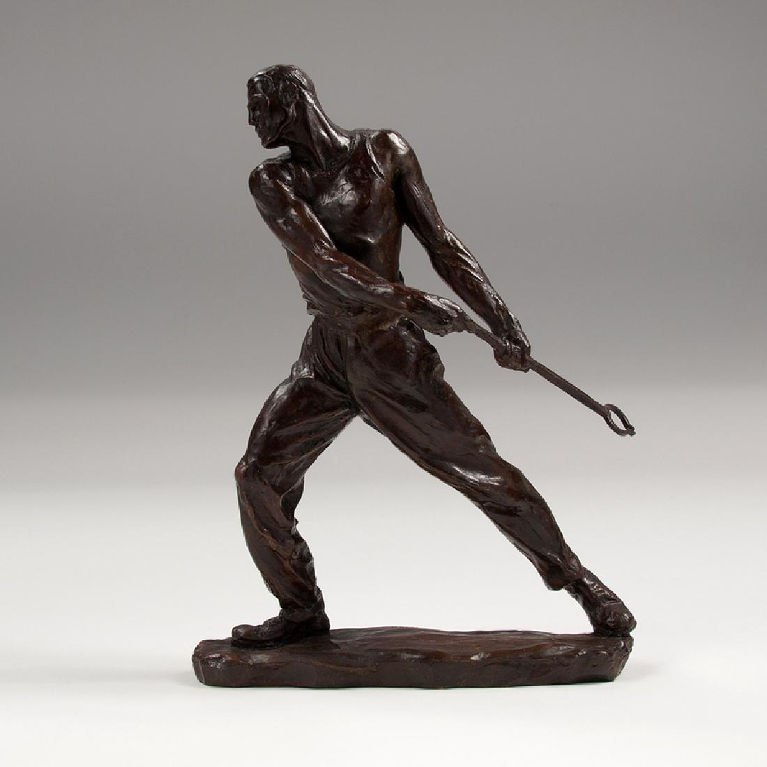 Max Kalish (American, 1891-1945) Bronze