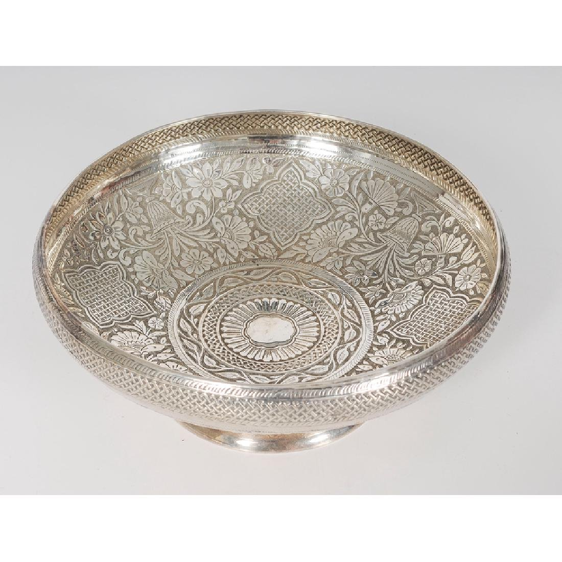 Gorham Aesthetic Movement Sterling Compote - 2