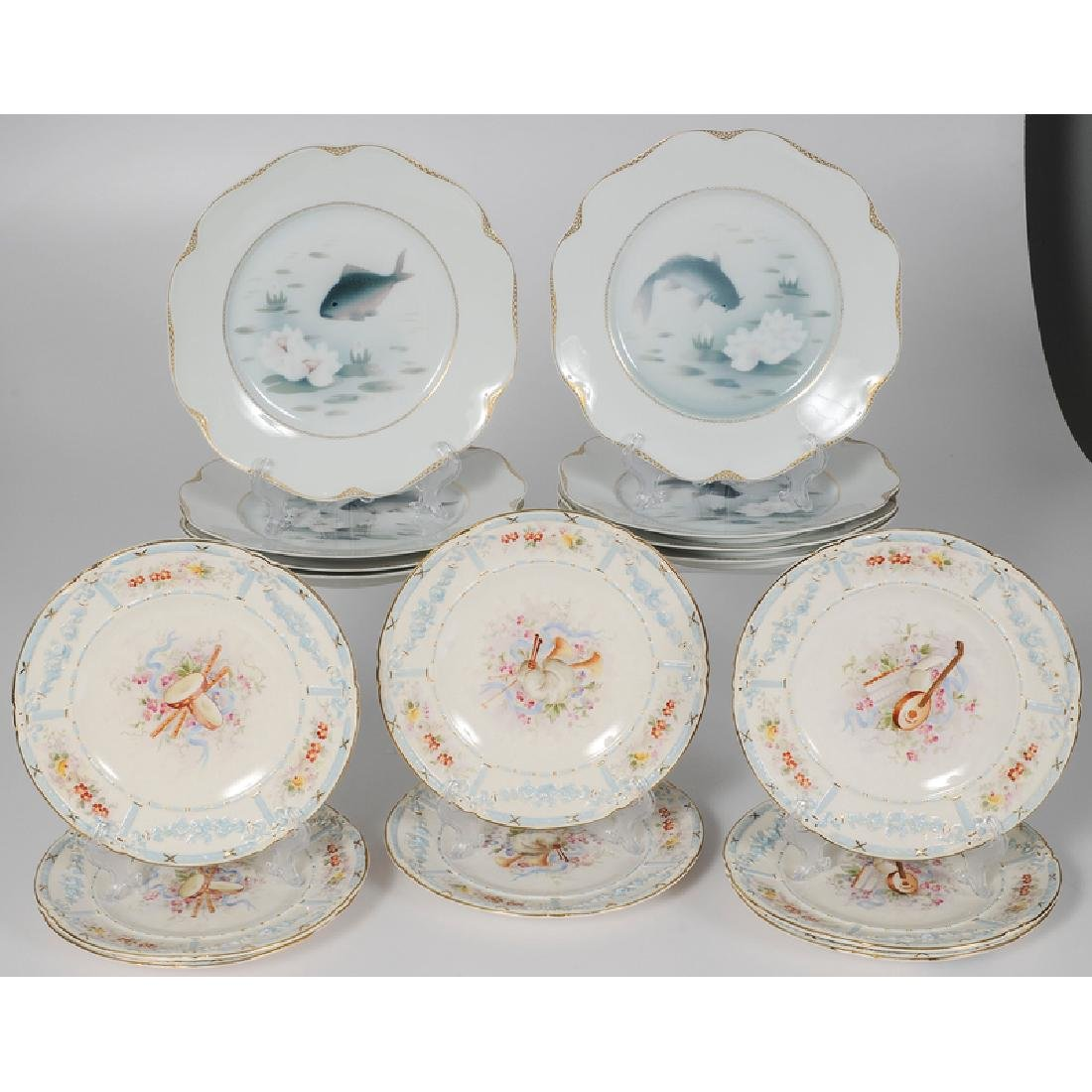 Rosenthal and Royal Bonn Lunch Plate Sets