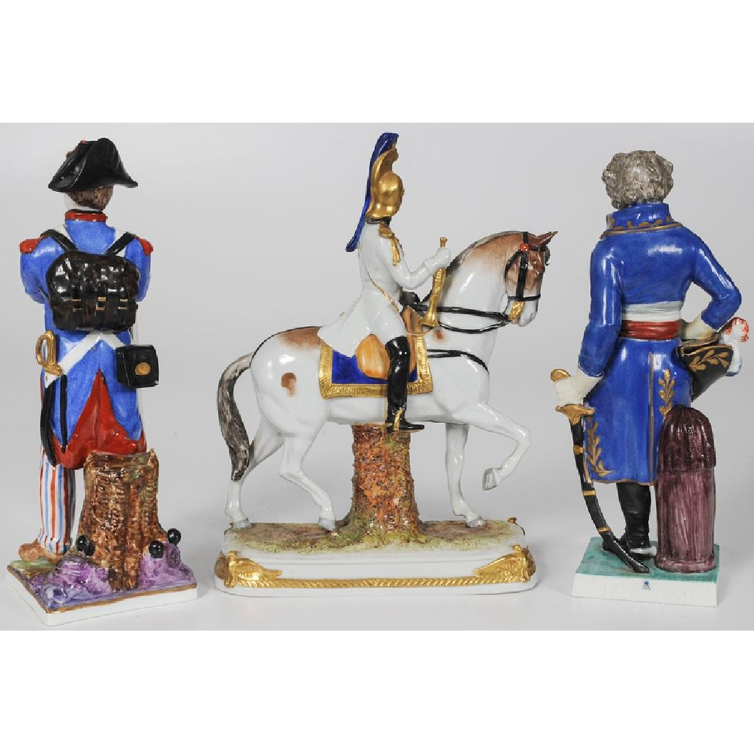 Napoleonic Porcelain Figures - 2