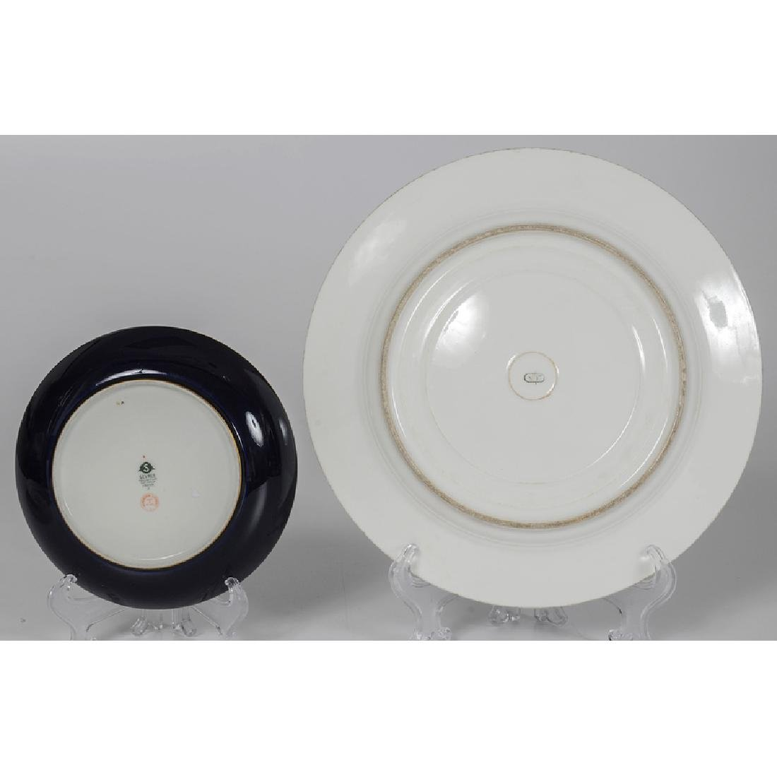 Sèvres Cup and Saucer, and Plates - 2