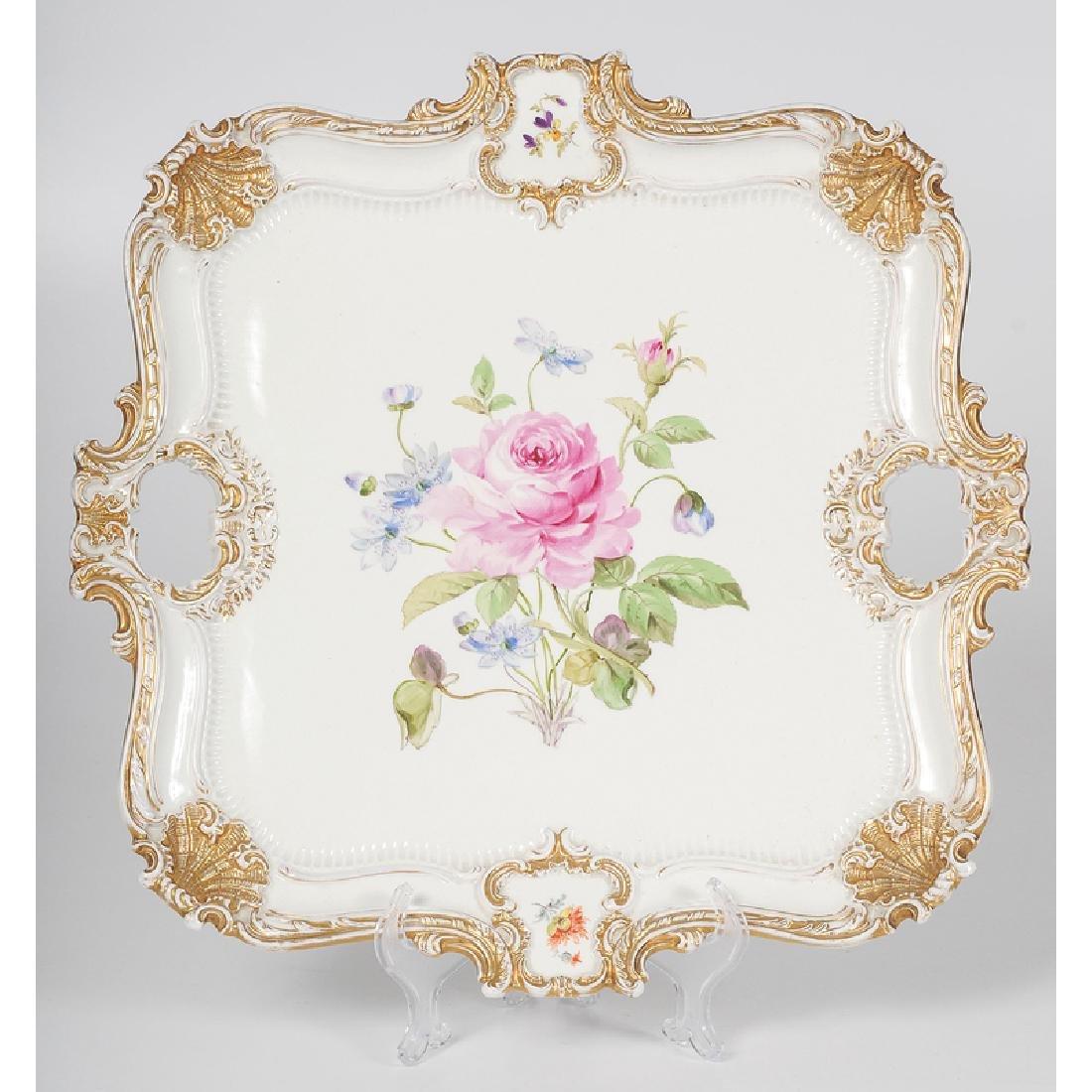Meissen Porcelain Tray