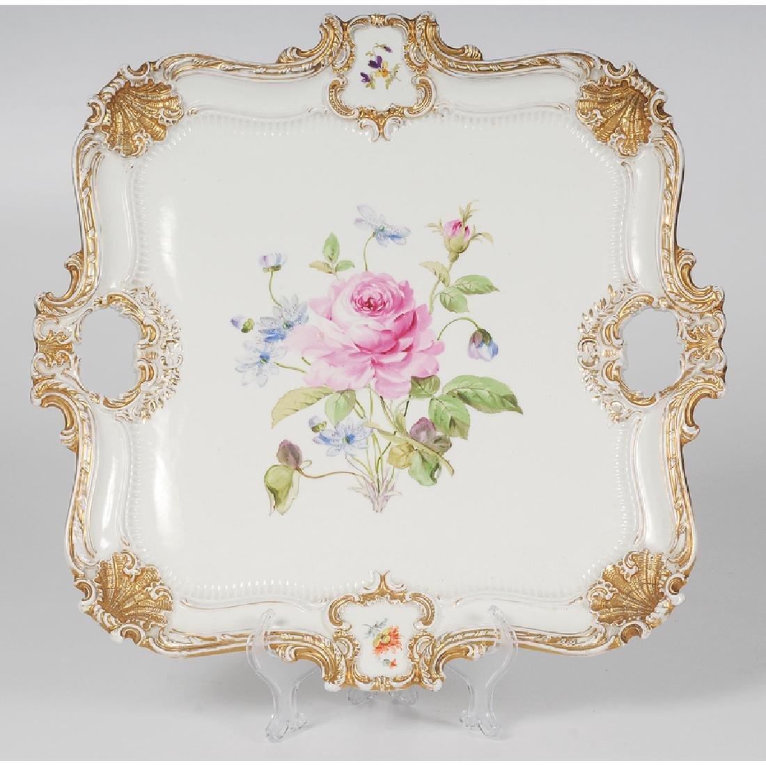 Meissen Porcelain Tray - 2