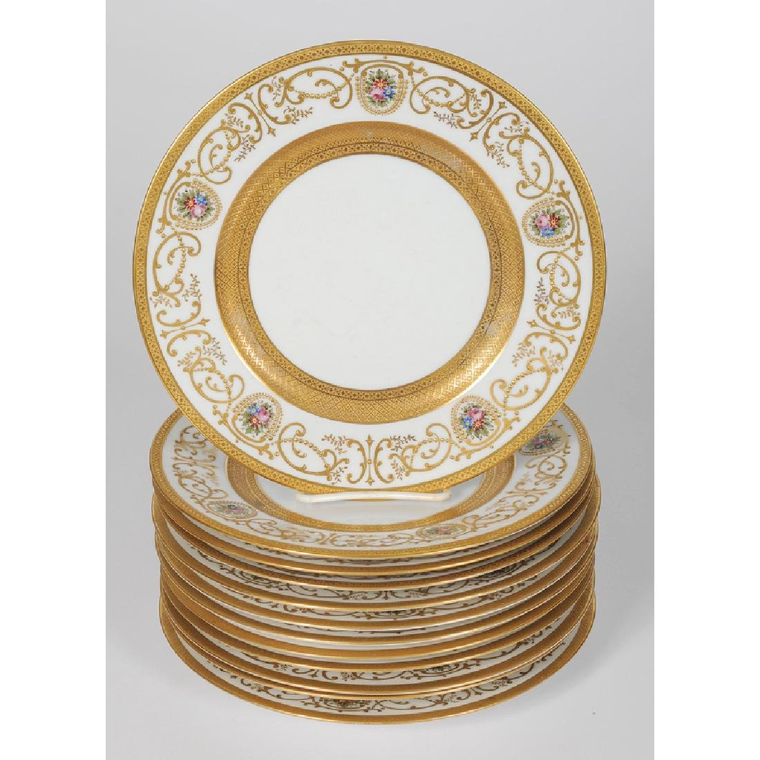 Hutschenreuther Gold Decorated Plates