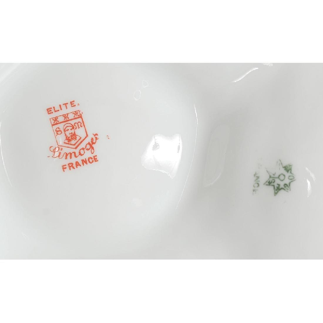 Limoges Porcelain Oyster Plates - 4
