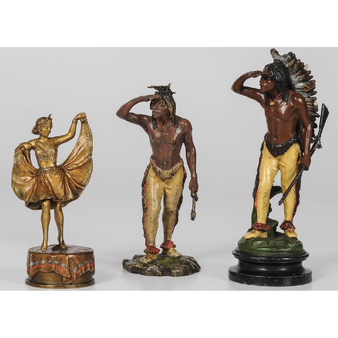 Franz Bergmann Cold Painted Bronzes, Plus