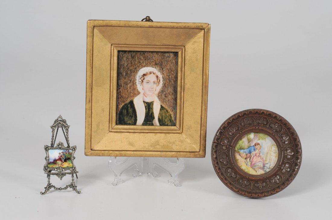 Miniature Portraits on Ivory, Plus