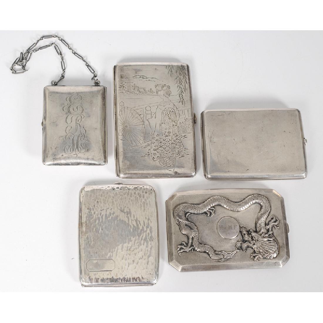 Silver Cigarette Cases