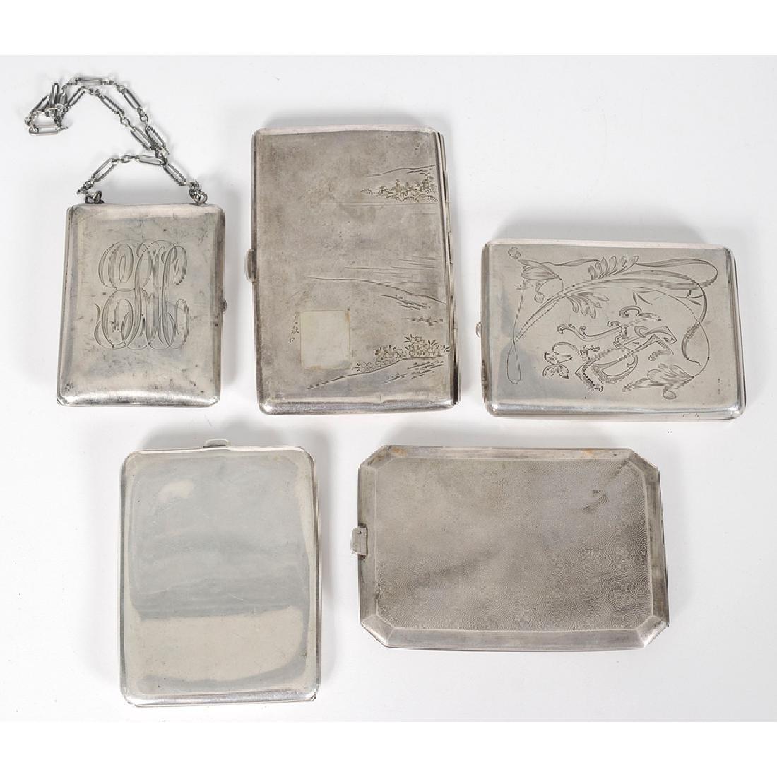 Silver Cigarette Cases - 2