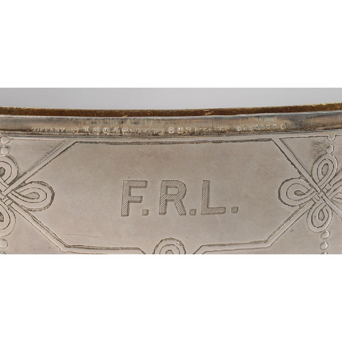 Tiffany and Other Silver Calling Card Cases - 5