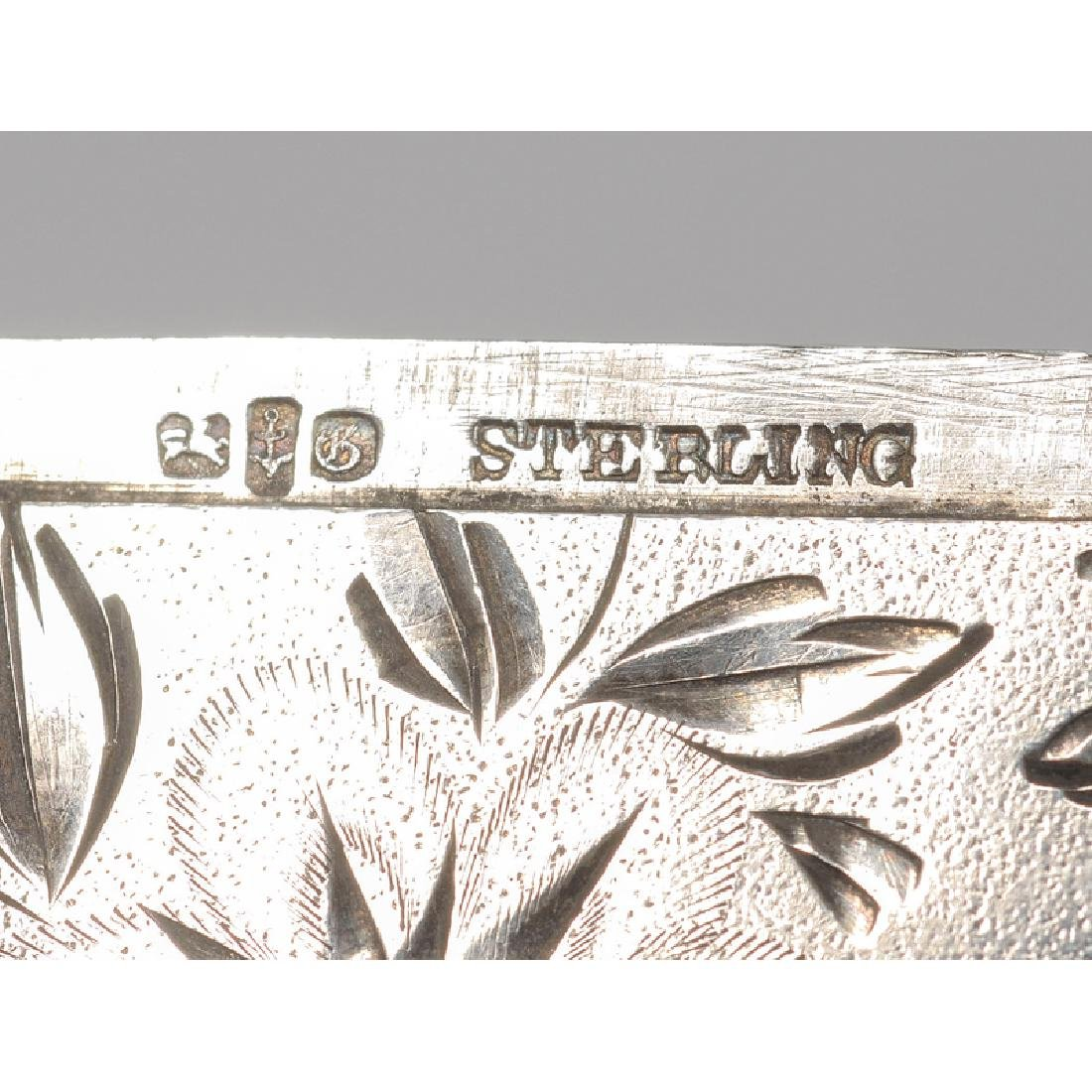 Tiffany and Other Silver Calling Card Cases - 7