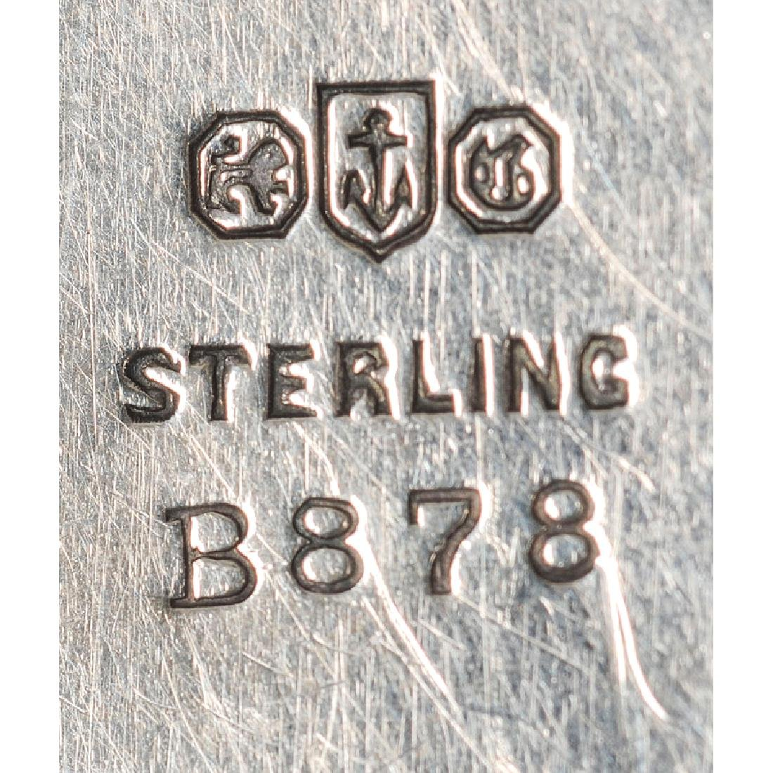 Fine Group of Sterling Pill Boxes, Including Gorham and - 4