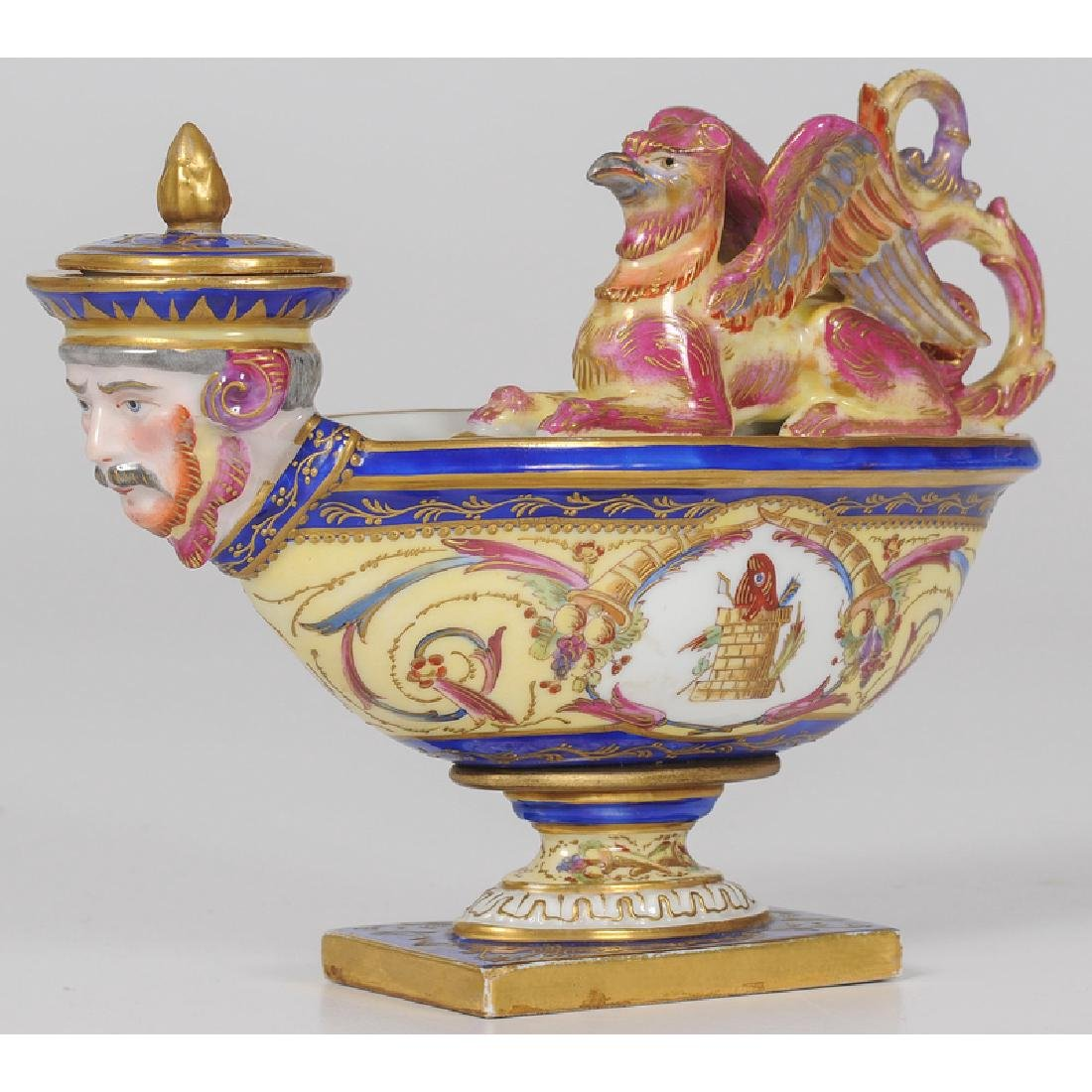 Sèvres Figural Inkwell