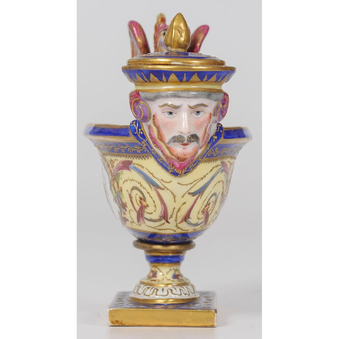 Sèvres Figural Inkwell - 3