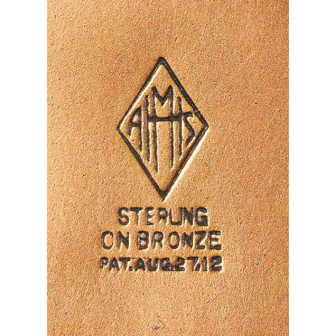 Heintz Sterling on Bronze Desk Accessories - 4