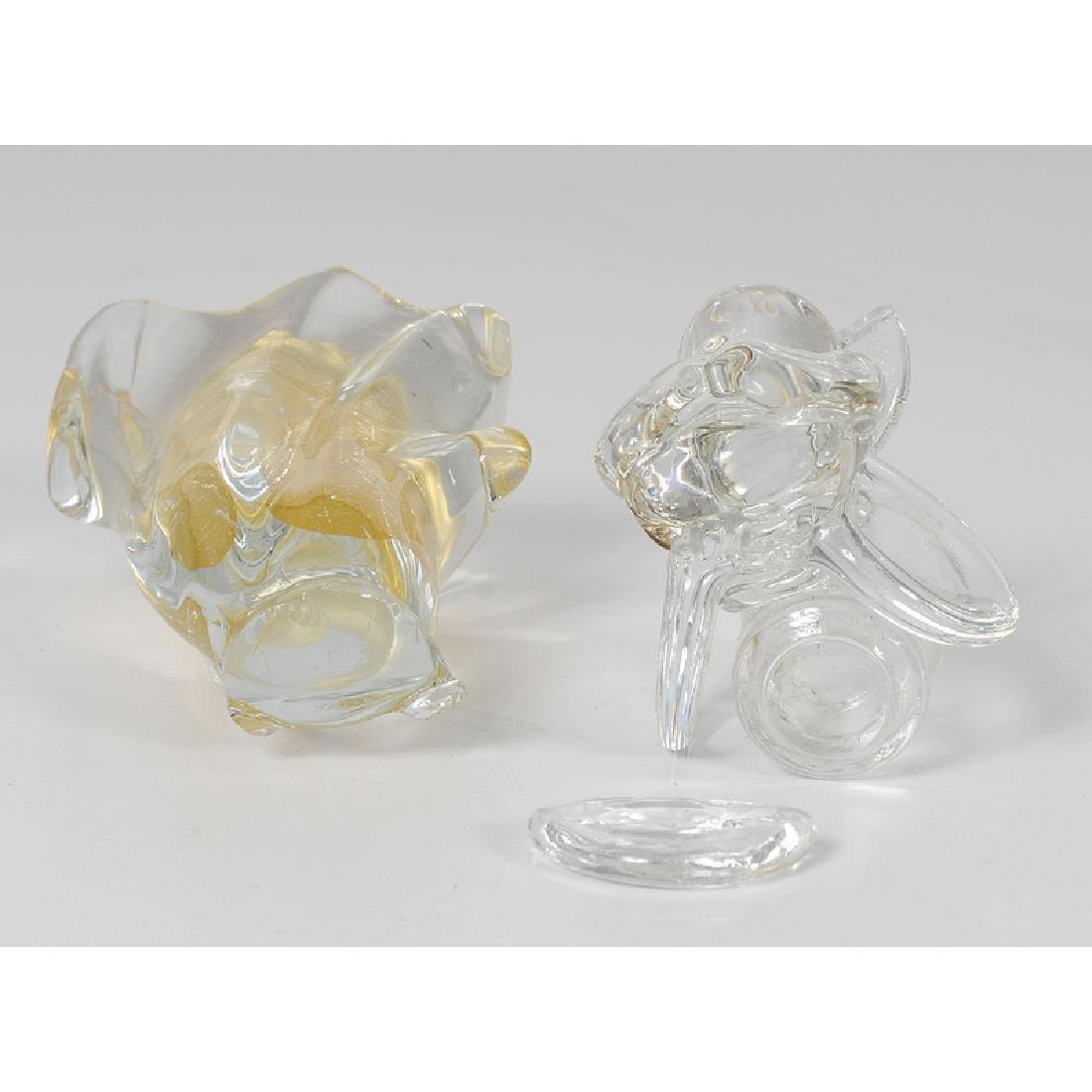 Assorted Glass and Ceramic Decorative Items Including - 2