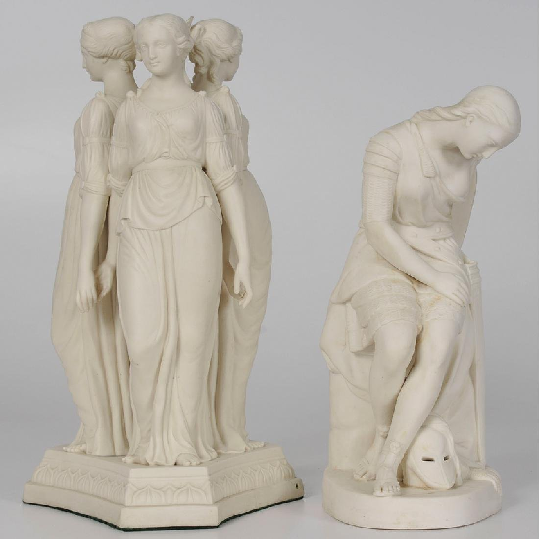 English Parian Figures