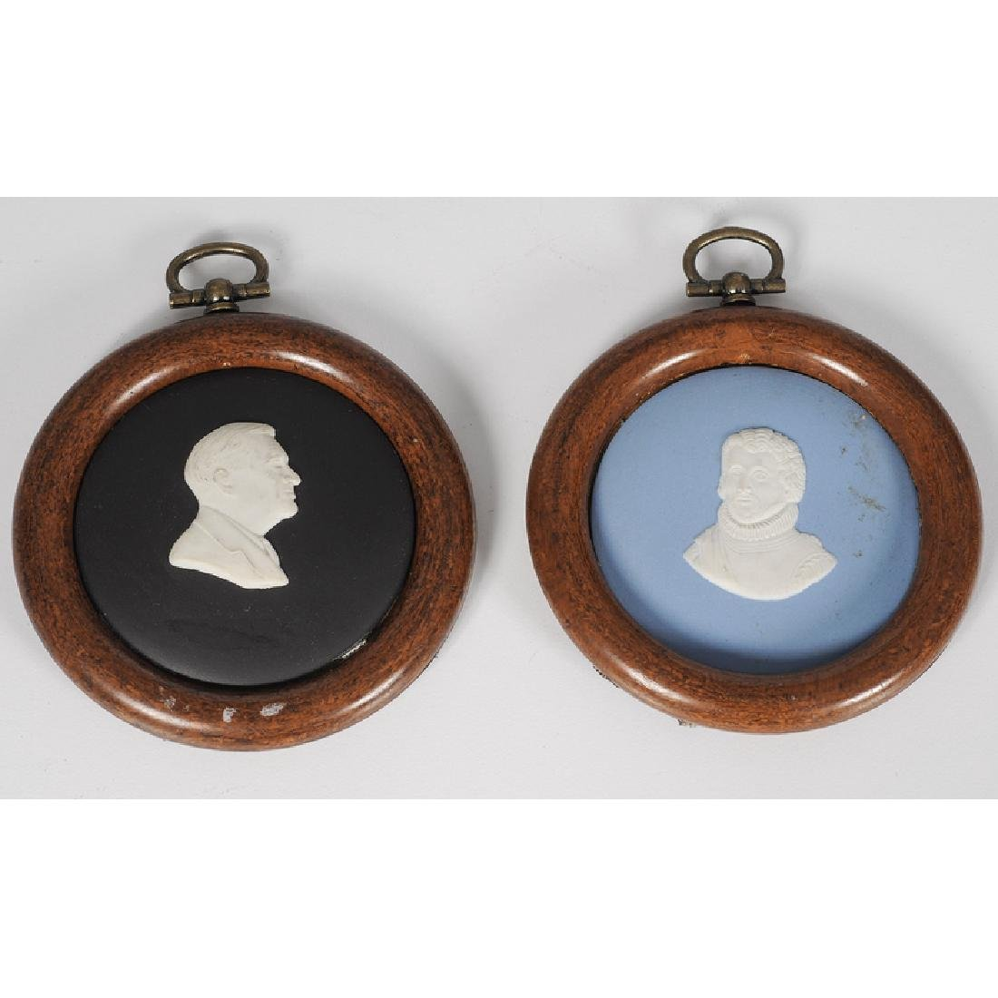 Wedgwood Japserware Cameo Portraits of Christopher