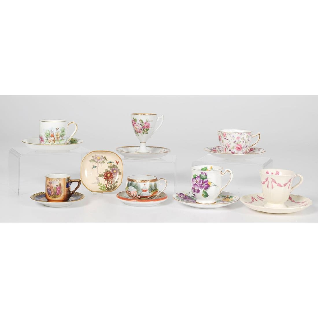 Assorted Collection of Teacups and Saucers - 2