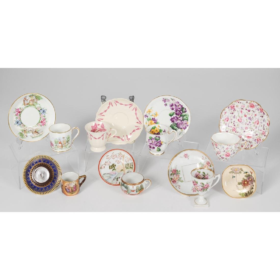 Assorted Collection of Teacups and Saucers - 3