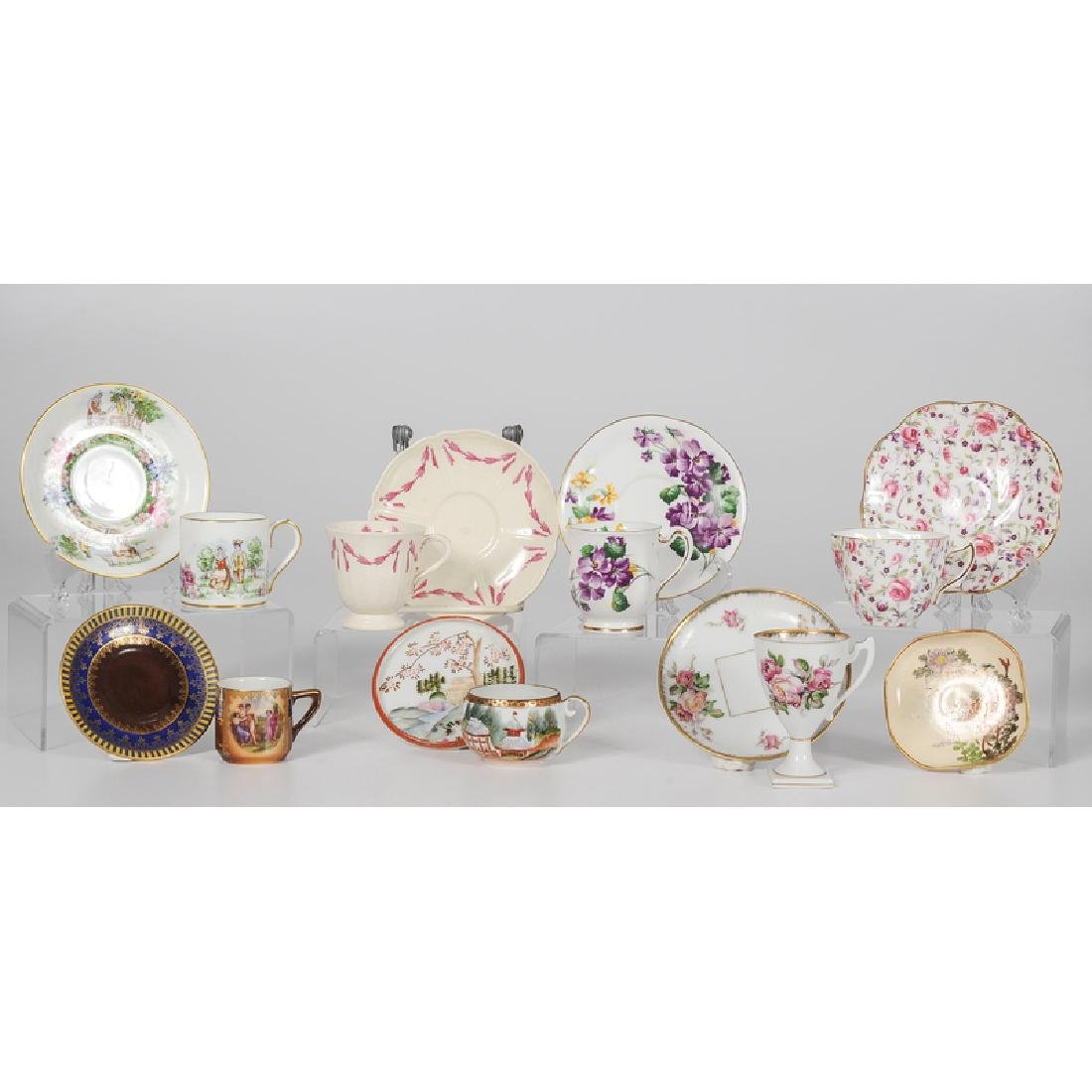 Assorted Collection of Teacups and Saucers - 4