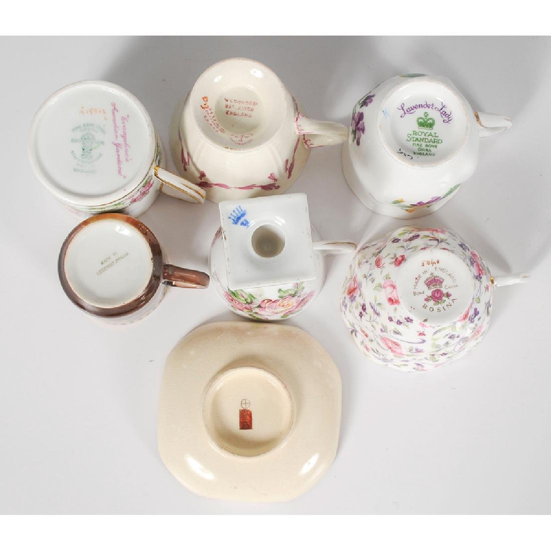 Assorted Collection of Teacups and Saucers - 6
