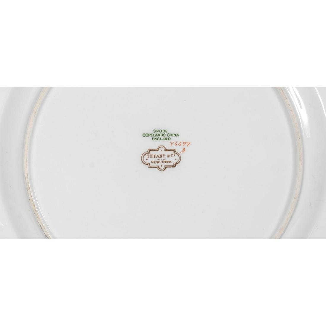 Spode Copeland Porcelain Plates, Retailed by Tiffany & - 2