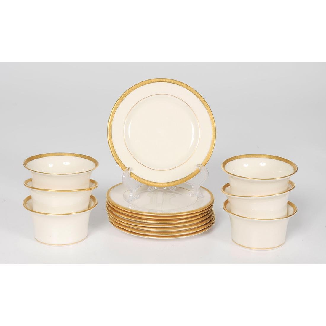 Lenox Porcelain Dessert Set - 2