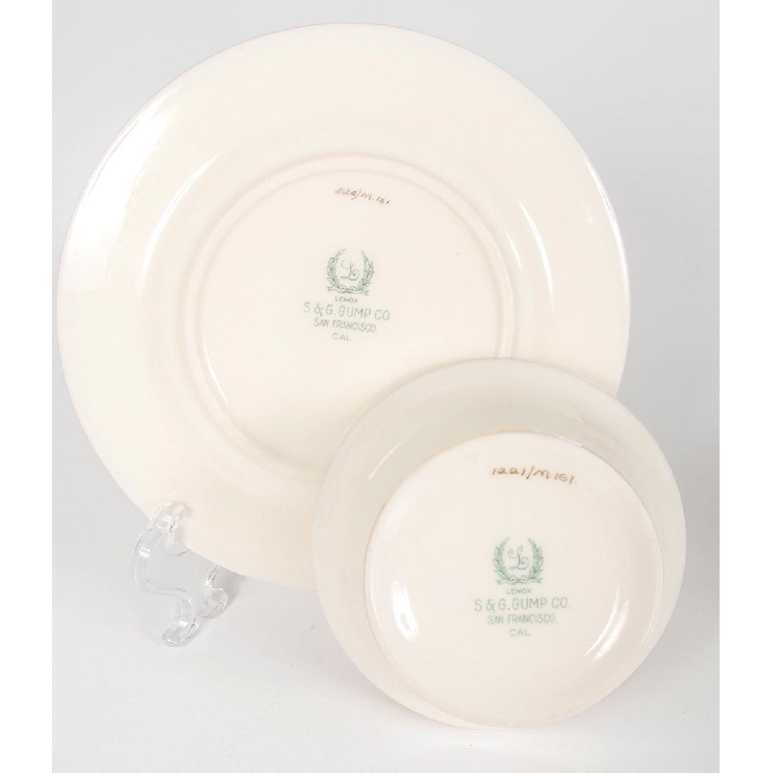 Lenox Porcelain Dessert Set - 3