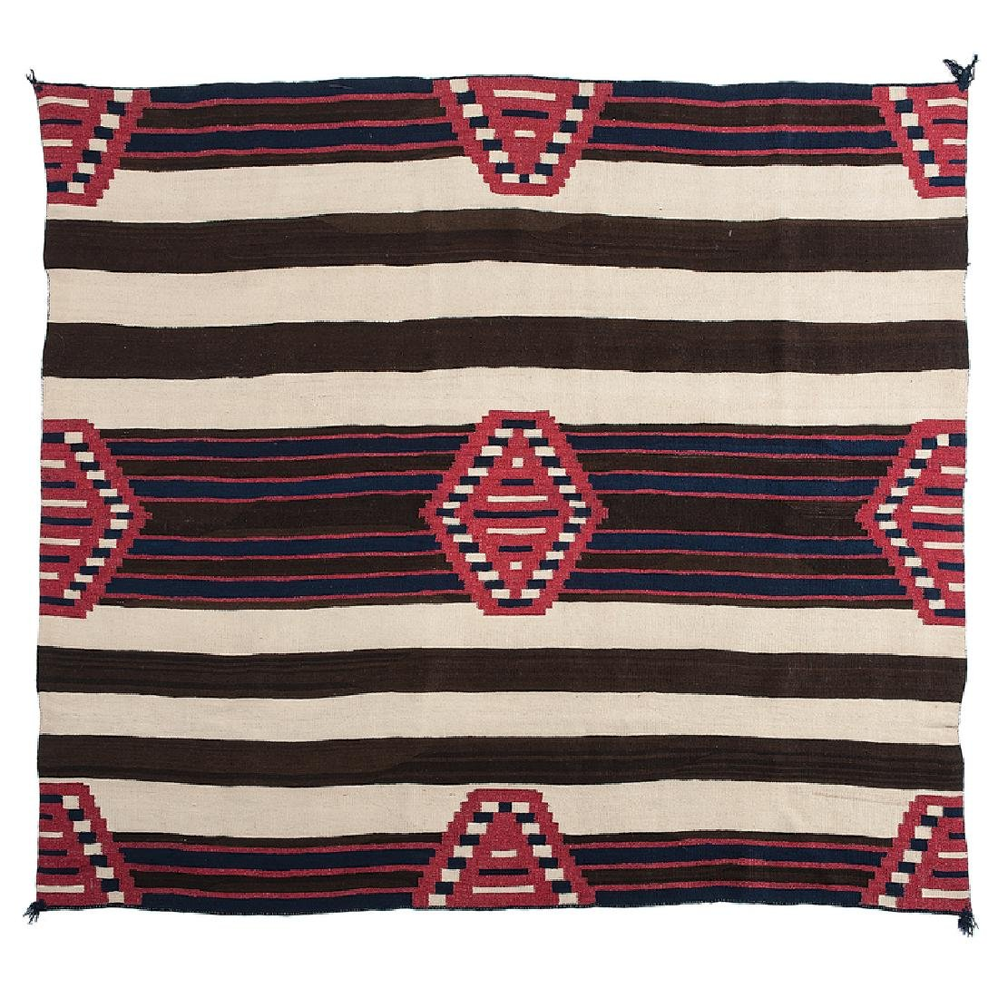 Navajo Third Phase Chief's Blanket / Rug